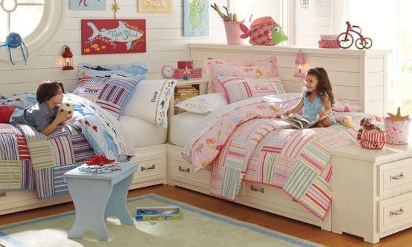"b46b6ca8c5f Παιδικό δωμάτιο για δύο: πρακτικές λύσεις που θα ""σώσουν"" την ..."